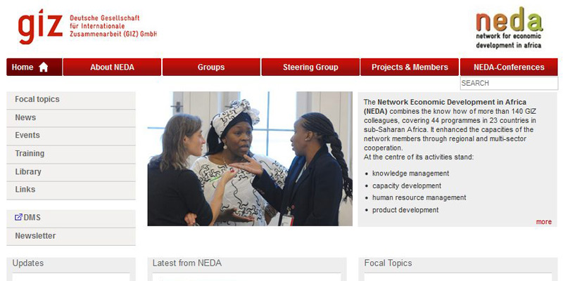 Network Economic Development in Africa (NEDA)