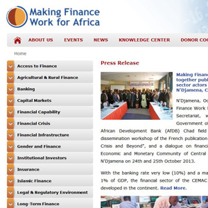 Making Finance Work for Afrika